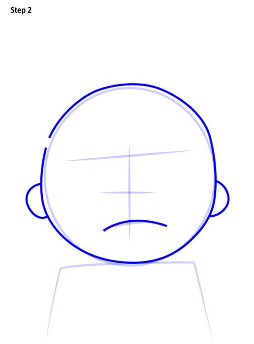 Как просто нарисовать злого Морти 2