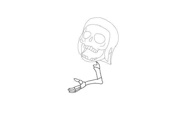 Рисуем бомбера из игры 5