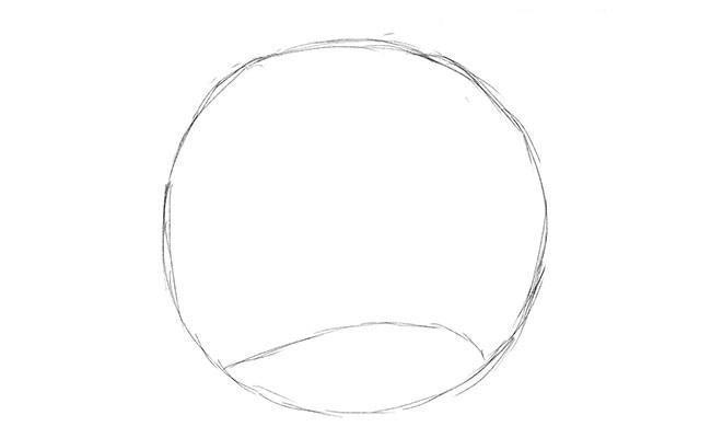 Как нарисовать ночь карандашом