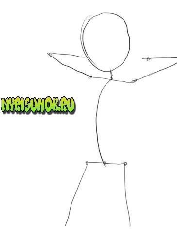 как нарисовать Сакуру Харуно