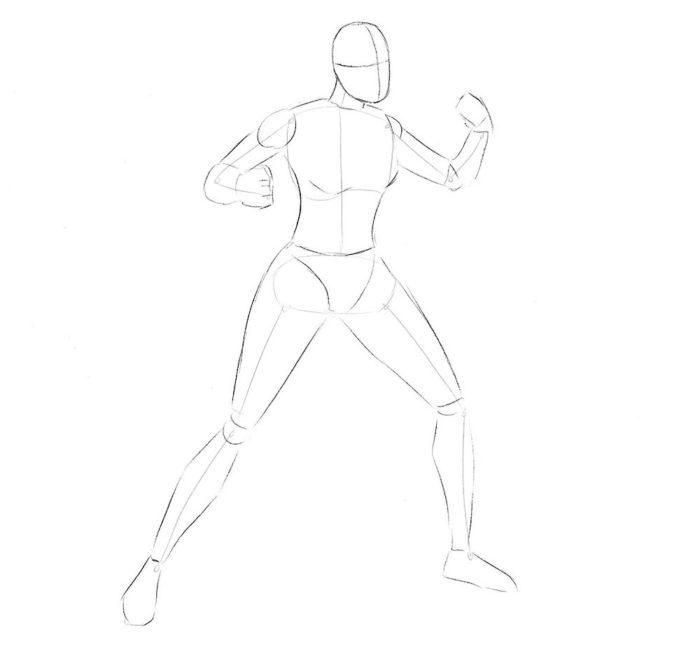 как нарисовать Икс 23