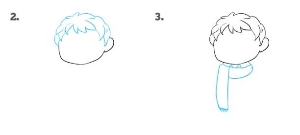 Как нарисовать Поттера 2