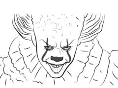 Рисуем Пеннивайза