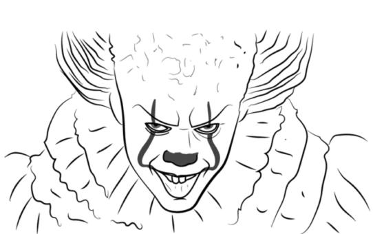 Как нарисовать Пеннивайза
