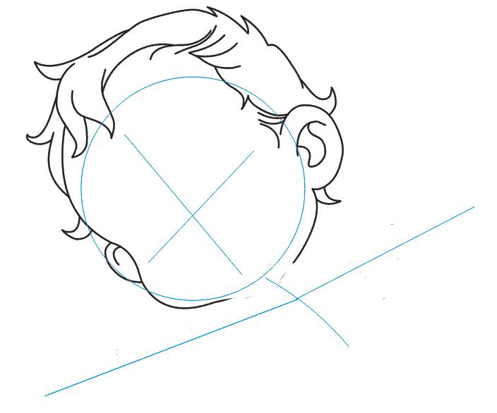 как нарисовать амура
