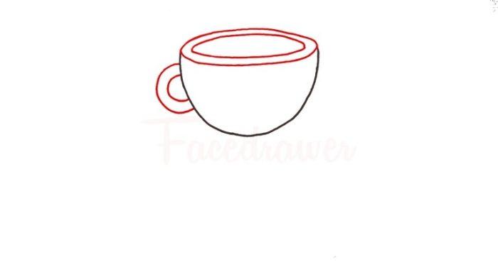 Как нарисовать Капхеда 1