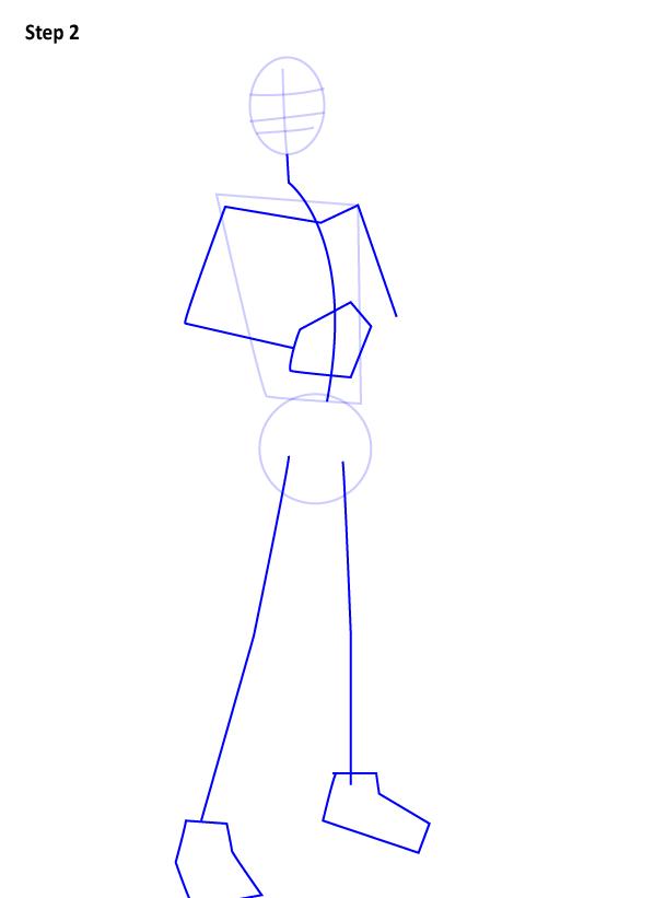 Как нарисовать Эзру Бриджера