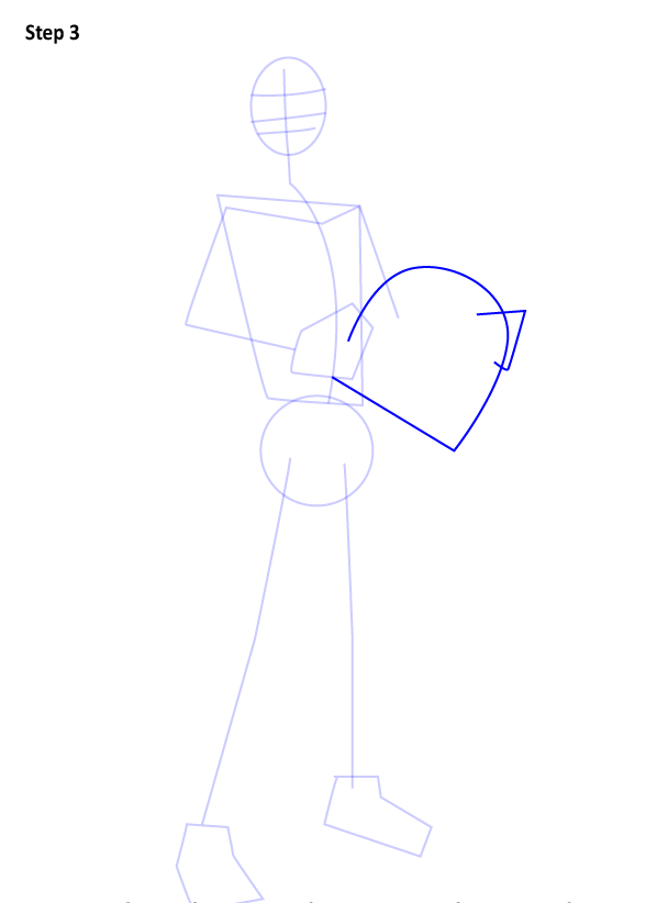 Как нарисовать Эзру Бриджера 2