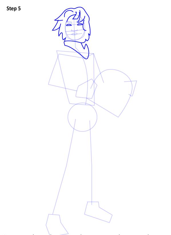 Как нарисовать Эзру Бриджера 4