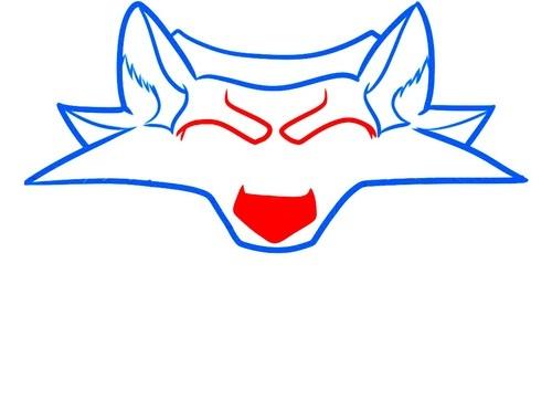 Рисуем школу волка из Ведьмака 1