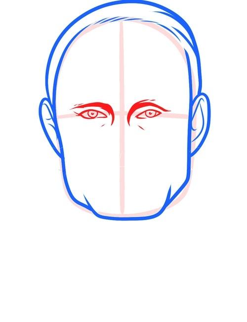 Рисуем Путина 4