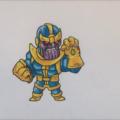 Как нарисовать чиби Таноса 18