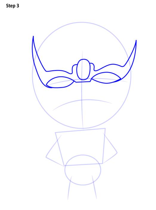 Как нарисовать Таноса из комиксов 3