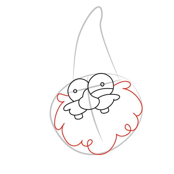 Как нарисовать гнома из Гравити фолз 3