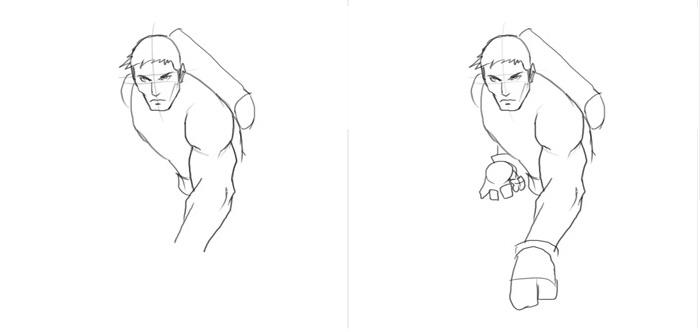 Как нарисовать Хоукая 2