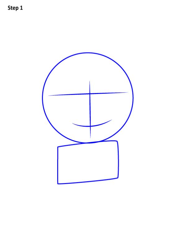 Как нарисовать Агнес из Гадкий Я 1
