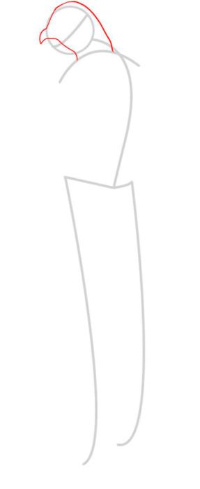 как нарисовать Альтаира 2