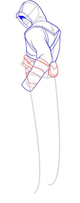 как нарисовать Альтаира 7