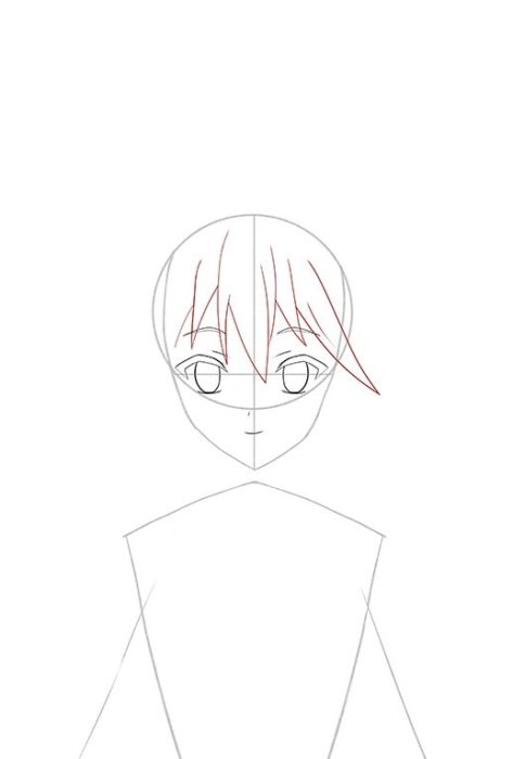 Рисуем Акву из аниме 5