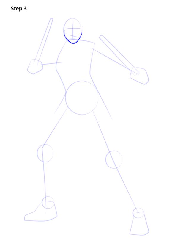 Как нарисовать Черную вдову из комиков 3