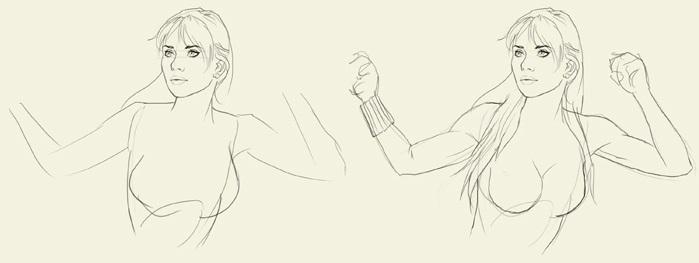 Как нарисовать Черную вдову 2