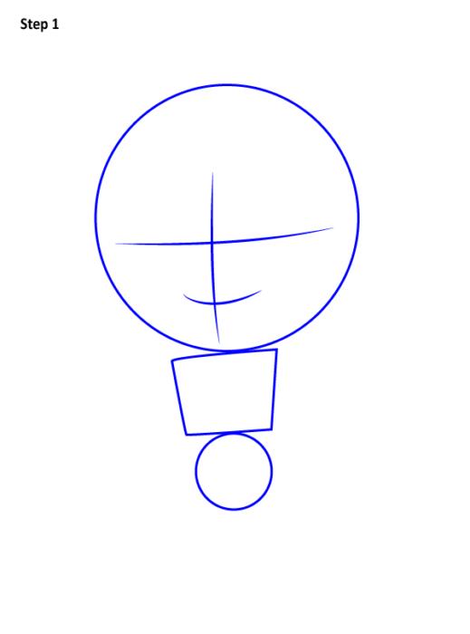 Как нарисовать Соколиного глаза 1