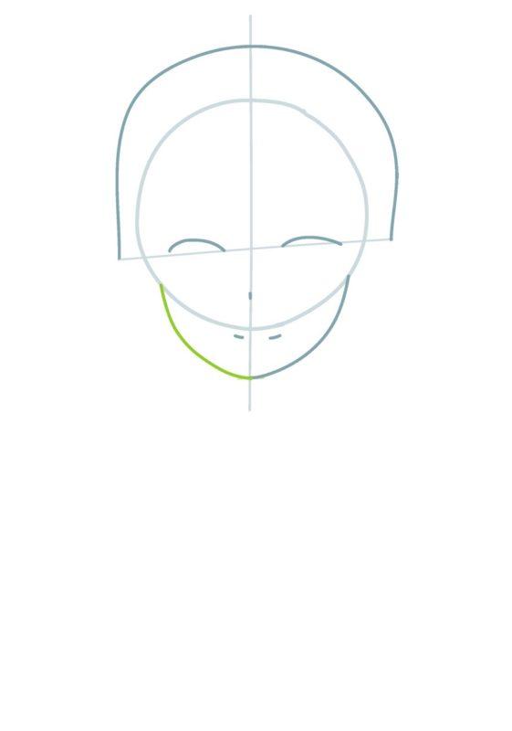 Как нарисовать Кирито 1