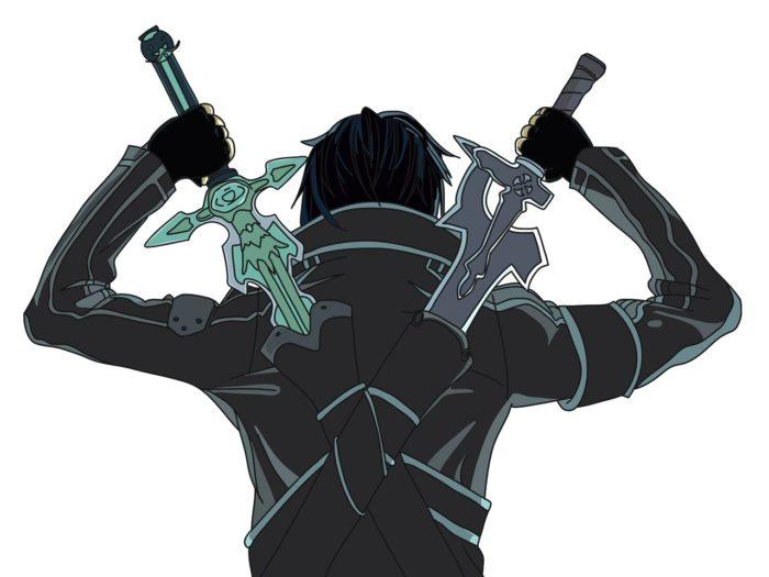 Рисовать Кирито из аниме 11