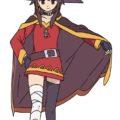 Как нарисовать Мэгумин из аниме 11