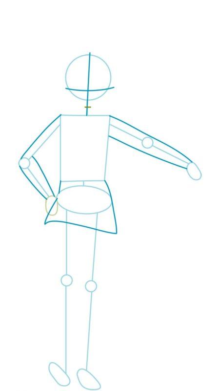 Как нарисовать Мэгумин из аниме 2