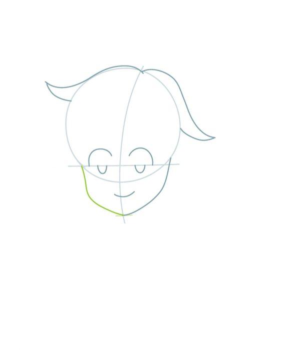 Рисуем поэтапно Мелиодаса 2