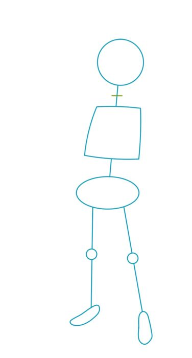 Как нарисовать Мелиодаса