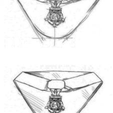 Как нарисовать Орден на День Победы 2
