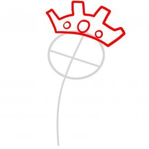 Как нарисовать принцессу 2