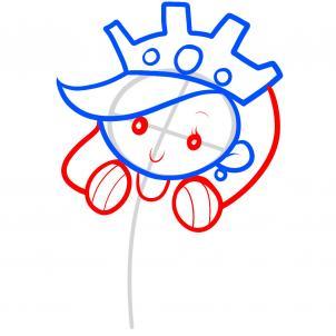 Как нарисовать принцессу 4