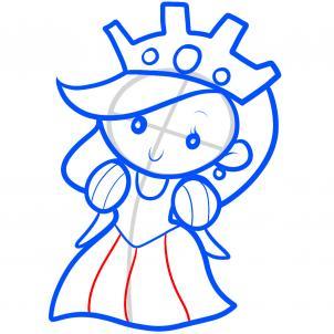 Как нарисовать принцессу 6
