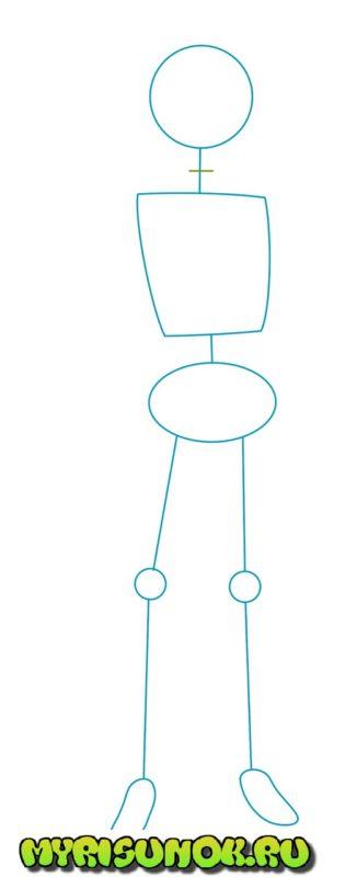 Как нарисовать Казуму Сато