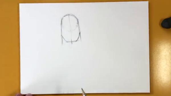 Как нарисовать Таноса из фильма 3