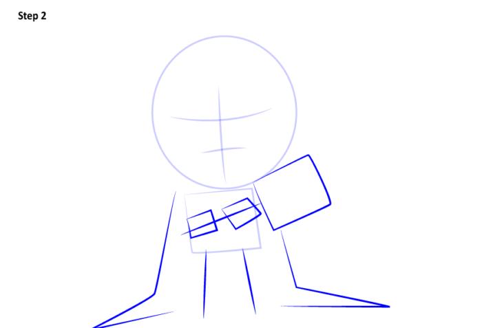 Рисуем супергероя Тора 2