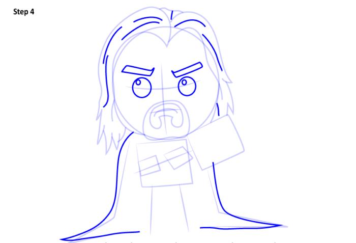 Рисуем супергероя Тора 4