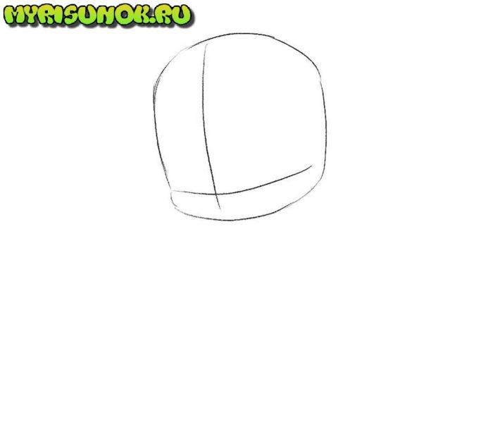Как нарисовать Тора в стиле чиби 2