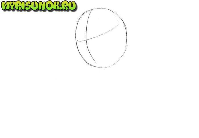 Как нарисовать чиби Венома 1