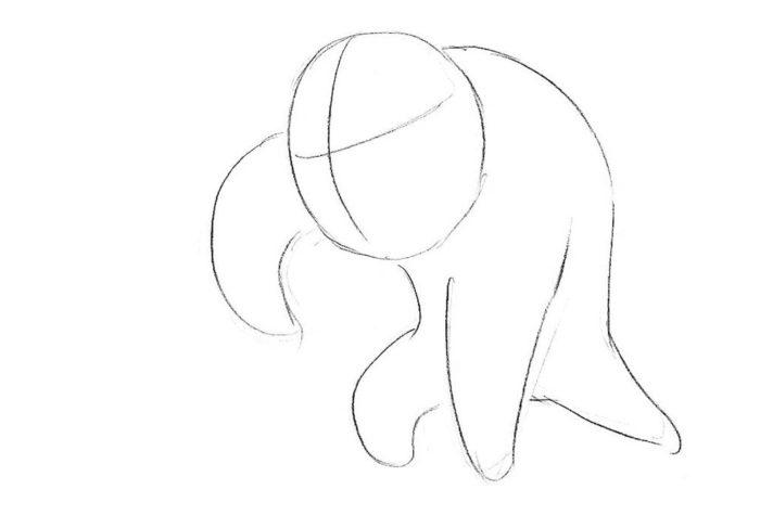 Как нарисовать чиби Венома 2