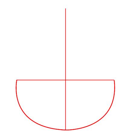нарисовать знак ассасина из игрыAssasin's Creed