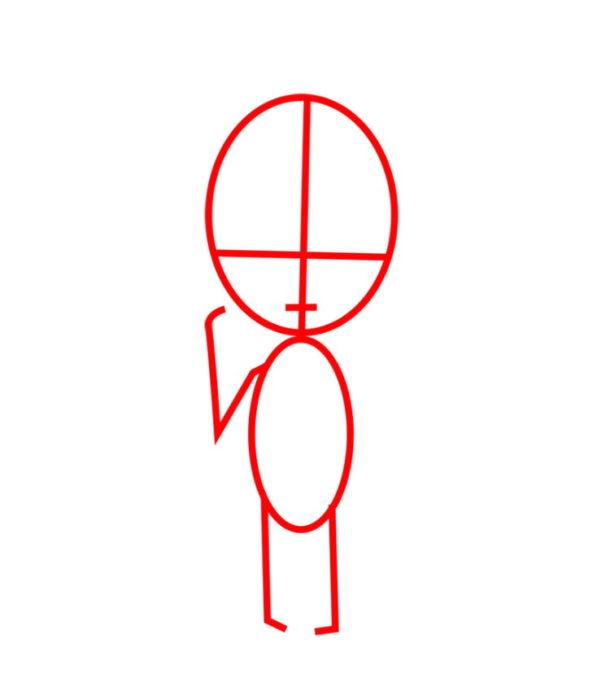 Как нарисовать Армин из аниме 1
