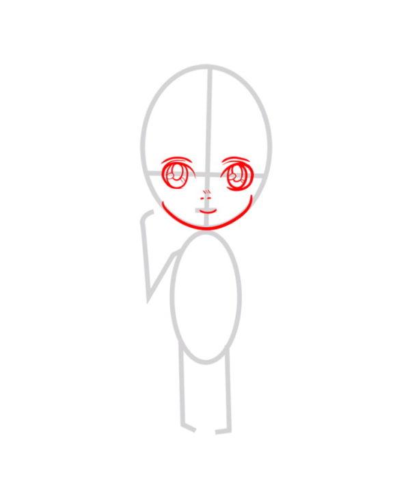 Как нарисовать Армин из аниме 2