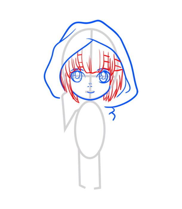 Как нарисовать Армин из аниме 4