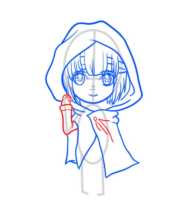 Как нарисовать Армин из аниме 6