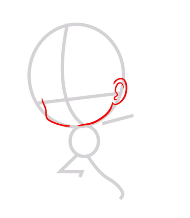 Как нарисовать Эрена из аниме 2