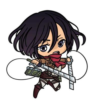 Как нарисовать Микасу из аниме